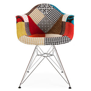 patchwork modern chair